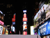 New York City,August 3nd:Times Square by night in Manhattan in New York City Royalty Free Stock Photography