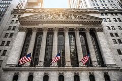 NEW YORK CITY - August 20: The New york Stock Exchange Stock Images