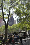 New York City,august 3rd:Bryant Park from Manhattan in New York Royalty Free Stock Photography