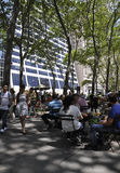 New York City,august 3rd:Bryant Park from Manhattan in New York Royalty Free Stock Photos