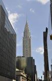 New York City,august 3rd:Chrysler Tower from Manhattan in New York Stock Photos