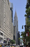 New York City,august 3rd:Chrysler Tower from Manhattan in New York Royalty Free Stock Photography