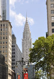 New York City,august 3rd:Chrysler Tower from Manhattan in New York Royalty Free Stock Photo