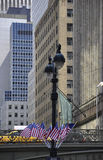 New York City,august 3rd:Grand Central Station bridge from Manhattan in New York Royalty Free Stock Photography