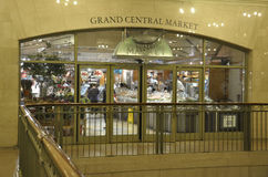 New York City,august 3rd:Grand Central Station building Market interior from Manhattan in New York Stock Images