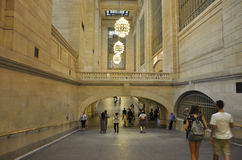 New York City,august 3rd:Grand Central Station inside hall from Manhattan in New York Royalty Free Stock Photos