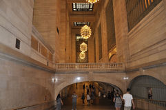 New York City,august 3rd:Grand Central Station inside hall from Manhattan in New York Royalty Free Stock Photography