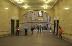 New York City,august 3rd:Grand Central Station inside hall from Manhattan in New York Royalty Free Stock Images
