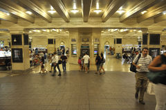 New York City,august 3rd:Grand Central Station interior from Manhattan in New York Stock Photo