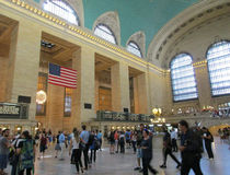 New York City,august 3rd:Grand Central Station Main hall from Manhattan in New York Royalty Free Stock Images