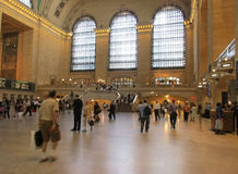 New York City,august 3rd:Grand Central Station Main hall from Manhattan in New York Royalty Free Stock Photography