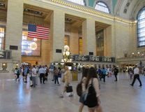 New York City,august 3rd:Grand Central Station Main hall from Manhattan in New York Stock Images