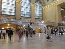 New York City,august 3rd:Grand Central Station Main hall from Manhattan in New York Stock Photography