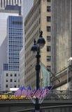 New York City august 3rd: Grand Central stationsbro från Manhattan i New York Royaltyfri Fotografi