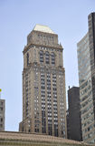 New York City august 3rd: Offentligt bibliotekbyggnad från Manhattan i New York Fotografering för Bildbyråer
