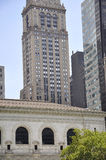 New York City,august 3rd:Public Library building from Manhattan in New York Stock Photo