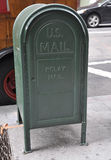 New York City,August 3rd:Street Mail Box from Manhattan in New York City Stock Photography