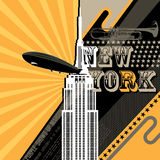 New York City background Stock Photography