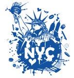New york city background Stock Image