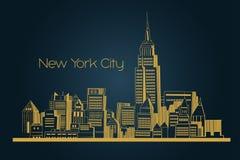 New York city background Stock Photo