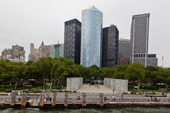 New York City Battery Park Stock Photography