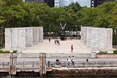 New York City Battery Park Memorial Stock Image