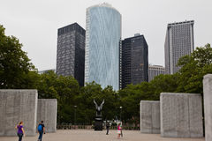 New York City Battery Park Memorial Stock Photo