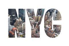 New York City begrepp Royaltyfria Bilder