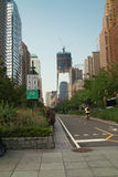 New York City Bicycle Path USA Stock Photos