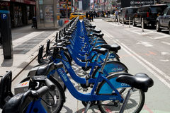 New York City Bikes Royalty Free Stock Photography