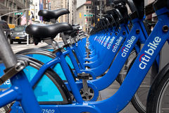 New York City Bikes Stock Image