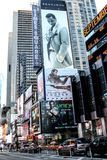 Times Square, New York City. New York City billboards in Time Square stock photography
