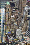New York City bird's eye view Royalty Free Stock Image