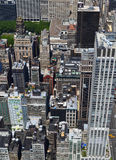 New York City bird's eye view Stock Photos