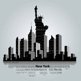 New York royalty free illustration