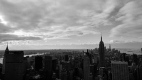 New York City. Black and white photography of New York City Royalty Free Stock Images
