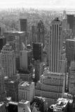 New York City blanco y negro Fotografía de archivo