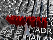New york and city blocks Stock Photography