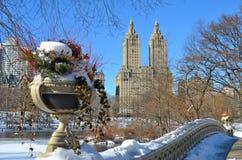 New York City bow bridge, NYC Royalty Free Stock Photos