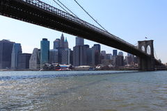 New York City Bridge Royalty Free Stock Photo