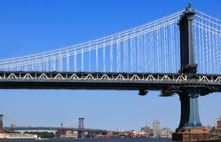 New York City Bridge Royalty Free Stock Image