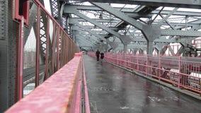 New York City Bridge stock footage