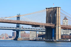 New York City Bridges Stock Photos
