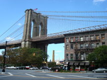New York City. Bridges and streets in New York City stock photography