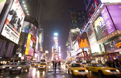 New York  city ,Broadway Royalty Free Stock Images