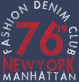 New York City; Bronx Grunge background. Typography; t-shirt grap Stock Photography