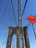 New York City Brooklyn Bride Stock Image
