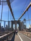 New York City Brooklyn Bride Stock Photo