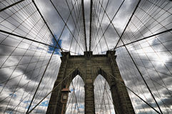 New York City Brooklyn Bridge Stock Images