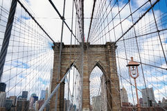 New York City Brooklyn Bridge Royalty Free Stock Photo